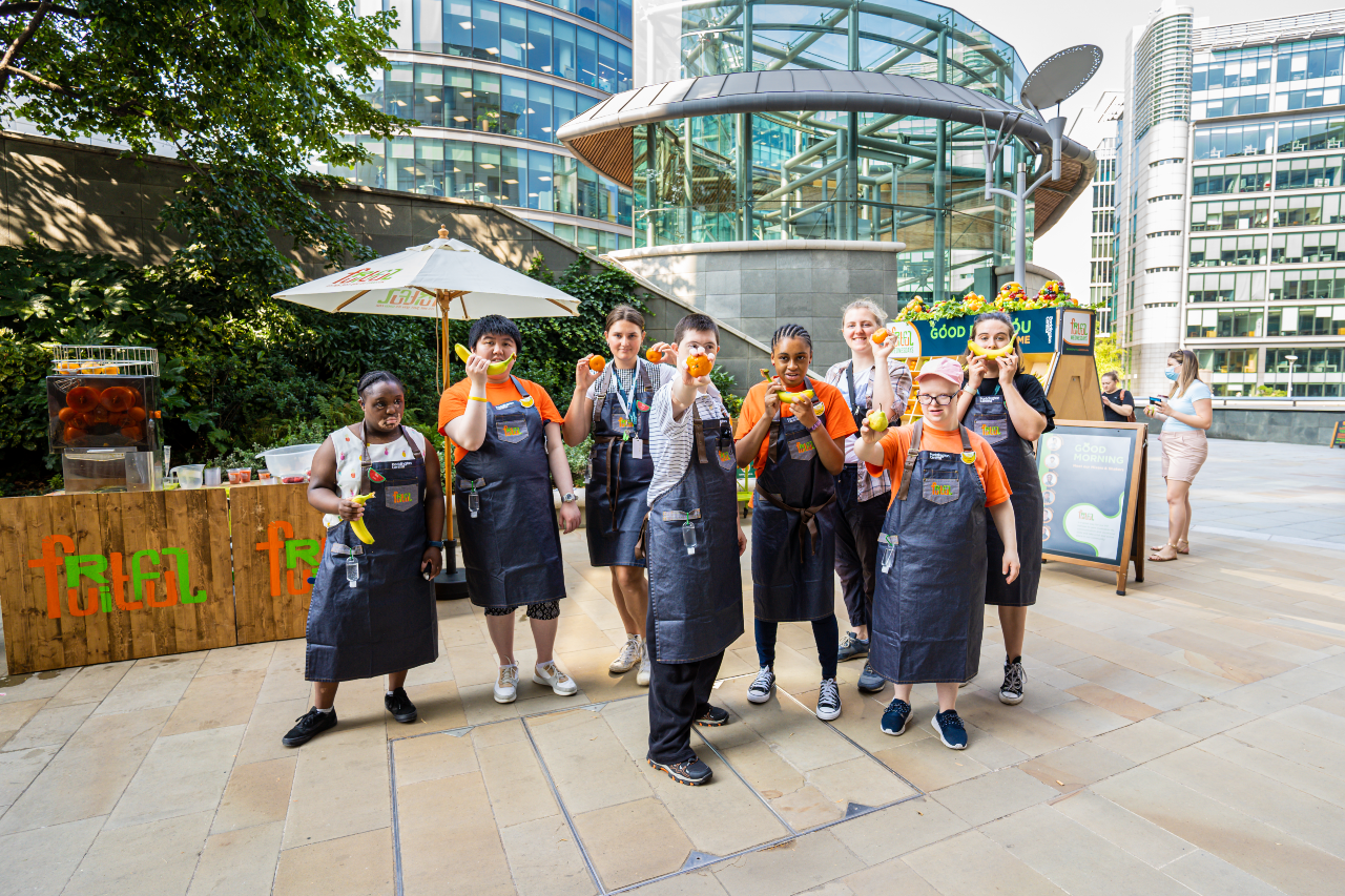Fruitful trainees at Paddington Central